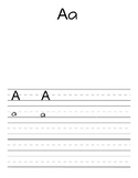 ABC Handwriting for Journals