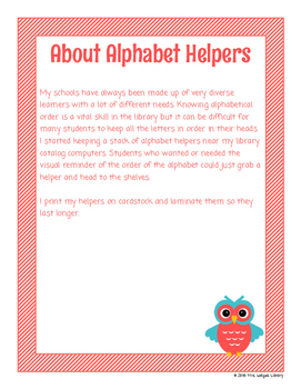 ABC Helpers: Visual Aids for ABC Order
