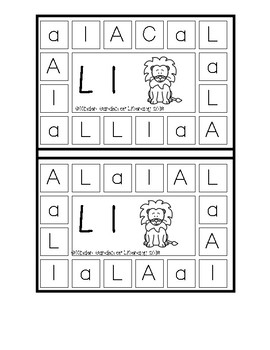 ABC Holepunch Letters