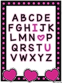 ABC I Love You Valentine Cards