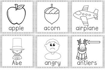 ABC I Spy {An Alphabet Classroom Scavenger Hunt}