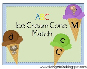 ABC Ice Cream Match