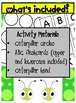 ABC Identification, Caterpillar Activity for ESL Kindergartners