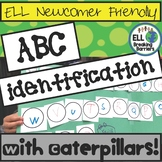 ABC Identification, Caterpillar Activity for ESL Kindergartners