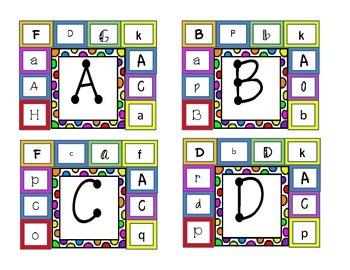 ABC Identification Clip Chart Center