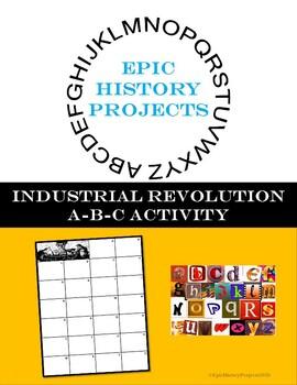 ABC Industrial Revolution Activity