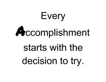 ABC Inspirational Quotes