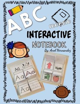 ABC Interactive Notebook - Freebie