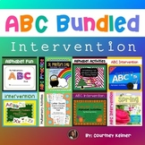 ABC Intervention Alphabet Recognition and Letter Sounds Bundle