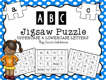ABC Jigsaw Puzzle [Uppercase & Lowercase Letters]