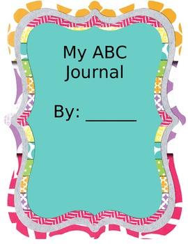 ESOL Kindergarten Alphabet Journal
