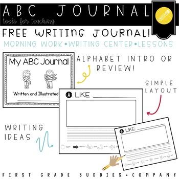 Alphabet Writing Journal