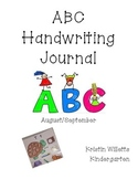 ABC Journal Handwriting