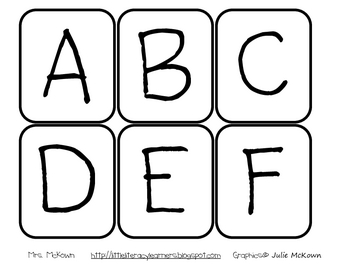 ABC Jump Up-Letter Sound Identification