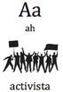 Alfabeto.Abecedario.ABC Justicia Social