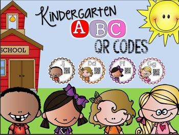 ABC Kids Alphabet Match QR Codes