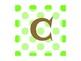 ABC Labels (Lime Polka Dot)