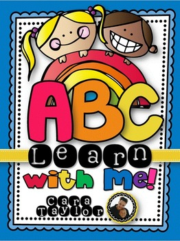 ABC~ Learn with Me Alphabet Centers, Games & Activities fo