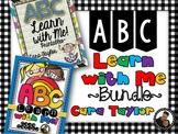 ABC Learn with Me Bundle ~ Alphabet Games, Print & Go, Activities, Centers