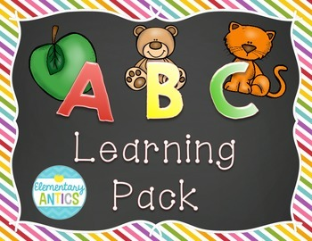 ABC Learning Pack {A-Z Letter Practice}