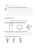ABC Learning Packet