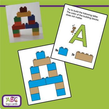 ABC Lego Cards