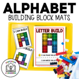 ABC Lego Worksheets and Flash Cards