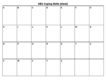 ABC Lesson Plans: Introducing Feelings, Coping Skills, and Manners