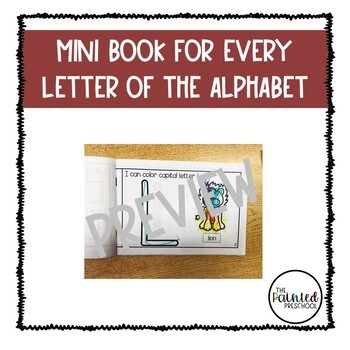 ABC Letter Books for Every Letter