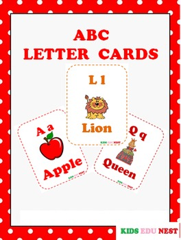 ABC Letter Flash Cards