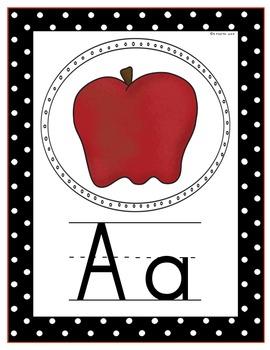 ABC Letter Cards Print