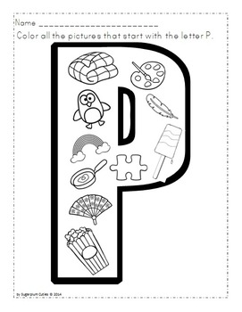 ABC Letter Coloring Worksheets