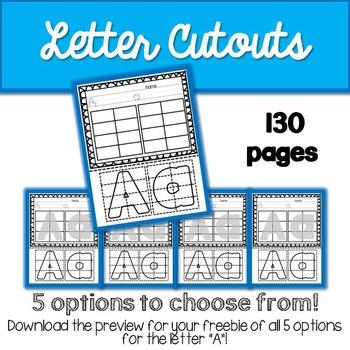 ABC Letter Cutouts