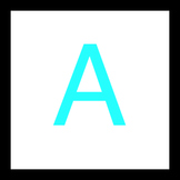 ABC Letter Flash Cards