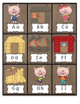 ABC Letter Game-HUFF&PUFF