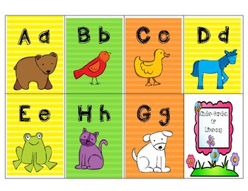 ABC Letter Game with Brown Bear