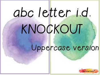ABC Letter I.D. Knockout! (Uppercase Letters)