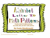 ABC Letter ID with Alphabet Math Patterns