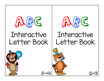 ABC Letter Adapted Book
