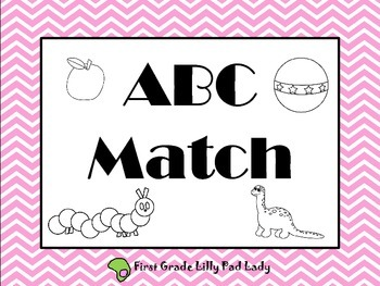 ABC Letter & Sound Match