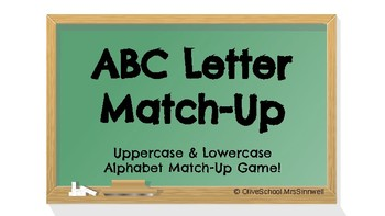 ABC Letter Match Up Game