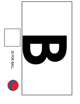 ABC Letter Matching - Adaptive Book