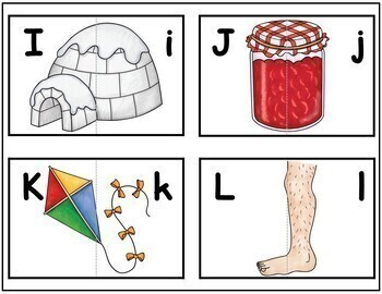 ABC Letter Matching Puzzles