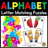 ABC Letter Matching Picture Puzzles