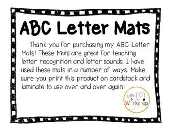 ABC Letter Mats