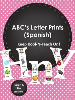 ABC Letters -Spanish