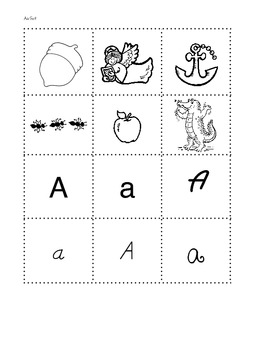 ABC Letter & Phonics Sort