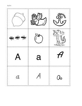 ABC Letter & Phonics Sort