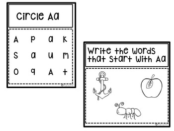 ABC Letter Practice and Identification