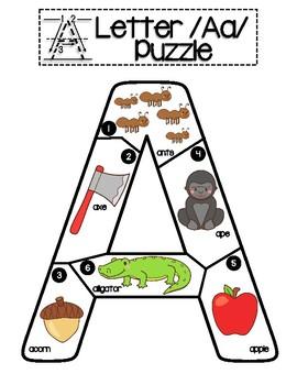 ABC Letter Puzzles